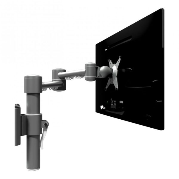 Dataflex Articulating Single Monitor Mount with Wall Fixing