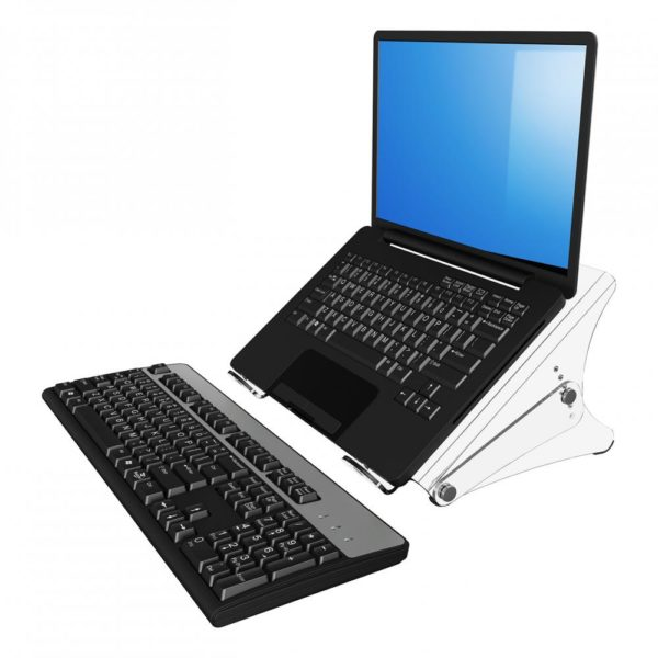 Height Adjustable Acrylic Laptop Stand