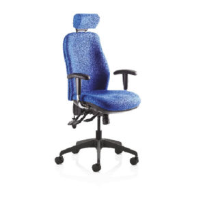 REDHR Operators Chair with Headrest