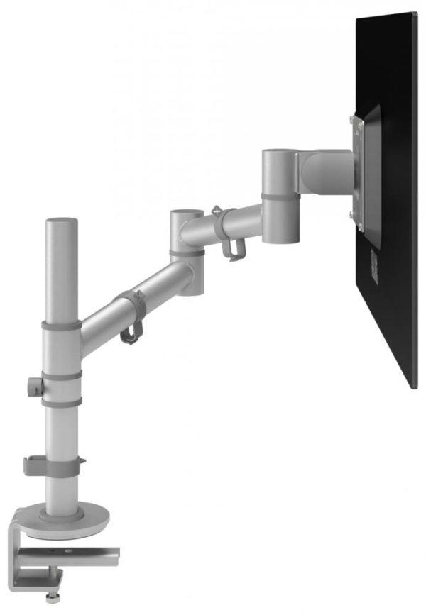 Viewgo 122 silver single monitor arm