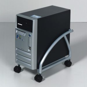 Dataflex CPU cart 'Design' Aluminium/Black
