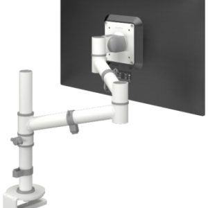 Viewgo 120 White single monitor arm