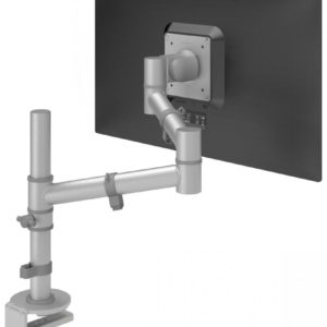 Viewgo 122 silver single monitor arm