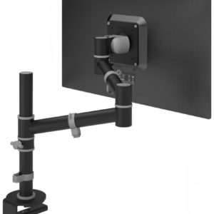 Viewgo 123 Black single monitor arm