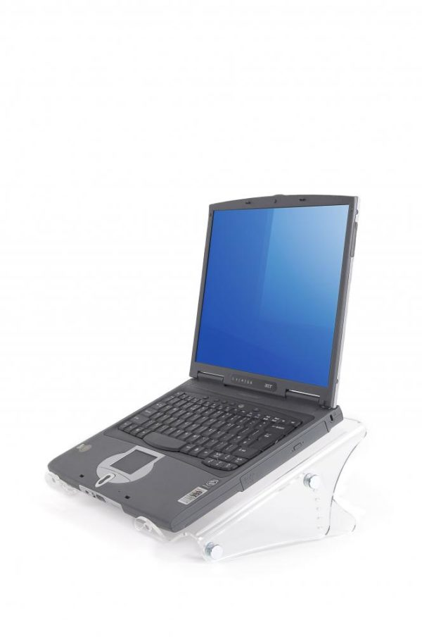 Height Adjustable Acrylic Laptop Stand (49450)