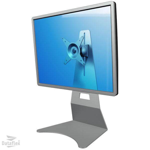 Dataflex Single Monitor Desk Stand Silver (52502)